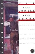 Lonely Years Stories & Letters 1925 1939