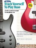 Teach Yourself Series||||Alfred's Teach Yourself to Play Bass