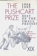 Pushcart Prize XIX Best of the Small Presses 1994 95 Edition