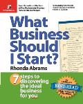 What Business Should I Start 7 Steps to Discovering the Ideal Business for You