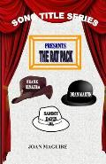 The Rat Pack Large Print Song Title Series