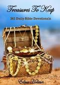 Treasures to Keep: 365 Daily Bible Devotionals