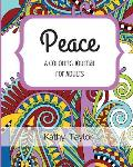 Peace: A Coloring Journal for Adults