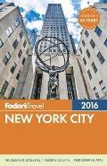 Fodors New York City 2016