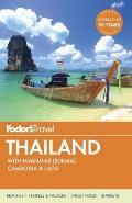 Fodors Thailand with Myanmar Burma Cambodia & Laos