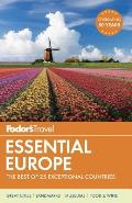 Fodors Essential Europe The Best of 25 Exceptional Countries