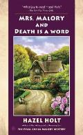 Mrs Malory & Death Is a Word