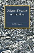 Origen's Doctrine of Tradition