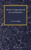 Studies in International Law and Relations