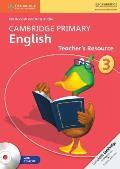 Cambridge Primary English Stage 3 Teacher's Resource Book [With CDROM]