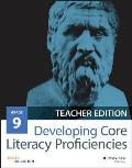 Developing Core Literacy Proficiencies, Grade 9