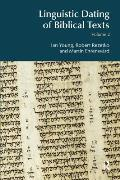 Linguistic Dating of Biblical Texts, Volume 2