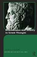 Resemblance and Reality in Greek Thought: Essays in Honor of Peter M. Smith