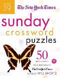 New York Times Sunday Crossword Puzzles Volume 39 50 Sunday Puzzles from the Pages of the New York Times