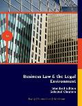 Business Law and Leg. Env., Stand. Ed. (Custom) (6TH 12 Edition)