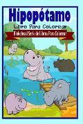 Hipopotamo Libro Para Colorear