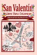 San Valentin Libro Para Colorear