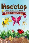 Insectos Libro Para Colorear