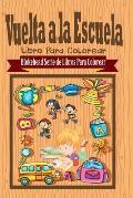 Vuelta a la Escuela Libro Para Colorear