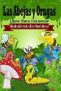 Las Abejas y Orugas Libro Para Colorear