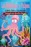 Las Medusas y Pulpos Libro Para Colorear