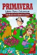 Primavera Libro Para Colorear