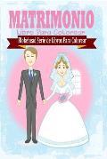 Matrimonio Libro Para Colorear