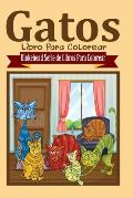 Gatos Libro Para Colorear
