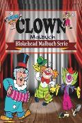 Clown Malbuch