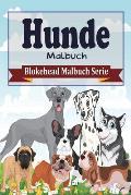 Hunde Malbuch