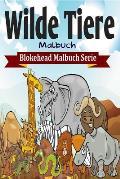 Wilde Tiere Malbuch