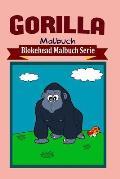 Gorilla Malbuch