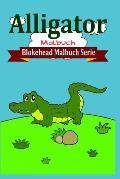 Alligator Malbuch