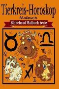 Tierkreis-Horoskop Malbuch