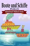 Boote Und Schiffe Malbuch