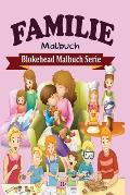 Familie Malbuch