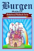 Burgen Malbuch