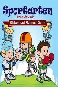 Sportarten Malbuch
