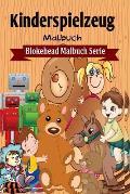 Kinderspielzeug Malbuch