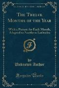 The Twelve Months of the Year: With a Picture for Each Month, Adapted to Northern Latitudes (Classic Reprint)