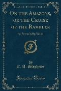 On the Amazons, or the Cruise of the Rambler: As Recorded by Wash (Classic Reprint)