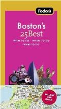 Fodors Bostons 25 Best 7th Edition
