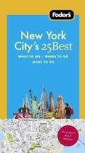 Fodors New York Citys 25 Best 8th Edition