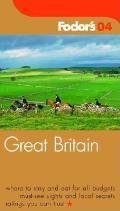 Fodors Great Britain 2004