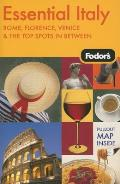 Fodors Essential Italy 1st Edition