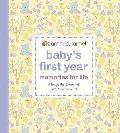 Baby's First Year - Memories for Life