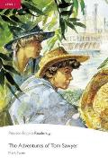Adventures of Tom Sawyer (W/ Audio), The, Level 1, Pearson English Readers