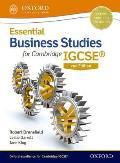 Essential Business Studies for Cambridge Igcse