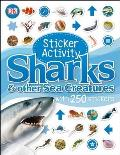 Sticker Activity Sharks and Other Sea Creatures