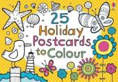 25 Postcards To Colour on Holiday